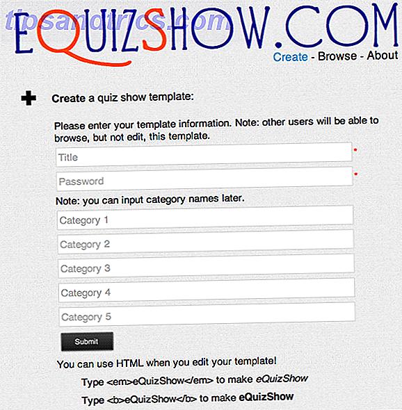EQuizShow: Crie um Show de Quiz como o Jeopardy no seu Sala de Aula