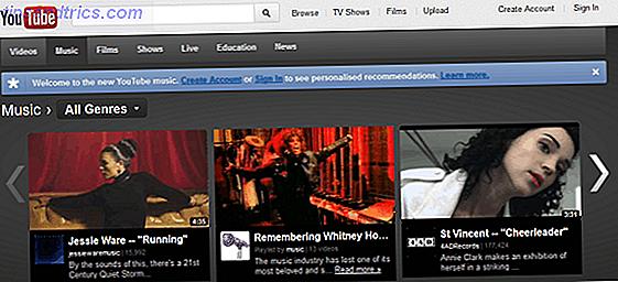 5 van de beste websites om de nieuwste HD-muziekvideo's te bekijken