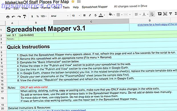 7 façons de créer une carte Google à l'aide des données de feuille de calcul Google