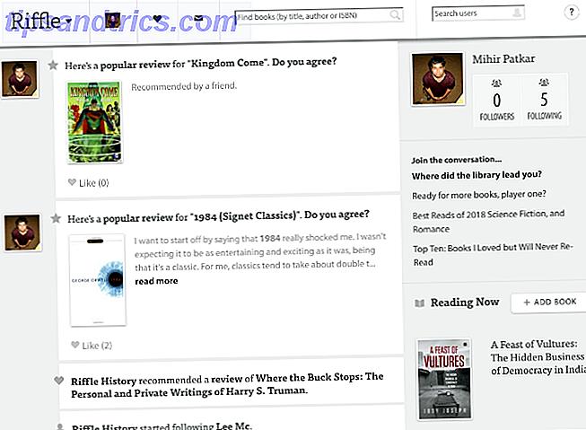 Goodreads können überwältigend sein.  Für einfachere Websites für Buchliebhaber, besuchen Sie diese wenig bekannten Online-Buchseiten.