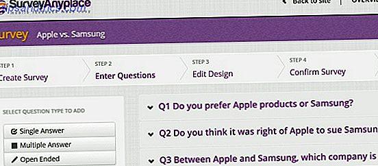 Survey Anyplace: Führen Sie mobile Umfragen durch und analysieren Sie die Ergebnisse