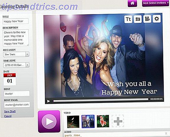 inwiter: Créer des invitations vidéo personnalisées et des salutations