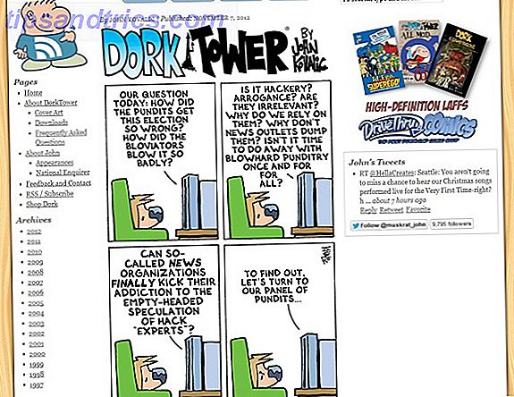 10 Awesome Webcomics Drawn Bare for Geeks dork tower screenshot