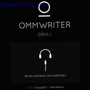 OmmWriter est une application d'écriture pour Windows, Mac et l'iPad.  Il est basé sur la philosophie que, pour se concentrer et être créatif, nous avons besoin d'un environnement calme et sans distraction.