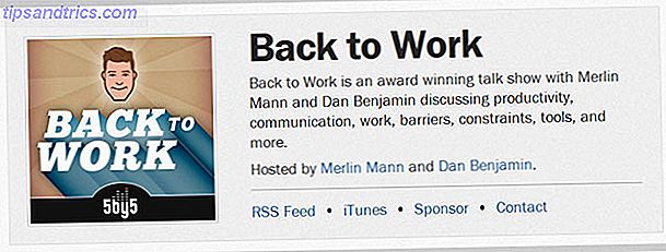 Parliamo di produttività - o lascia che questi sette hacker di vita parlino delle piccole cose che possiamo fare per lavorare in modo fantastico.  Collegati ... rilassati ... e ascolta.