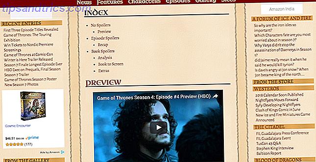 Game of Thrones es un espectáculo increíble que hace que HBO Now valga su dinero.  Captura estos maravillosos sitios y aplicaciones de GoT antes de que se reanude el espectáculo.