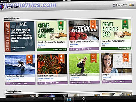 Wenn Sie Zeit und Lust haben, etwas Neues zu entdecken und zu lernen, bietet die Online-Lernseite und die mobile App Curious.com Hunderte von kostenlosen oder kostengünstigen Video-Tutorials an.  Bring deine Neugier.