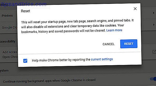 Wie behebt man Probleme in Chrome und Firefox mit einem Browser Reset