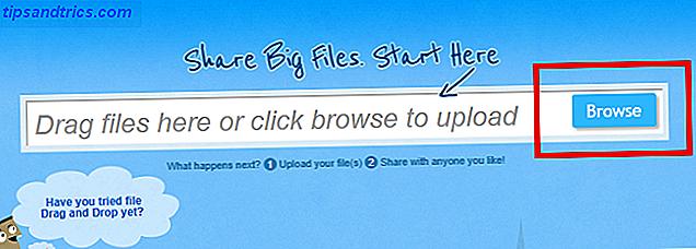 Næsten alle e-mail-udbydere begrænser størrelsen af dine vedhæftede filer, så hvordan skal du sende store filer til modtagere?  Med en gratis tjeneste kaldet SendSpace.