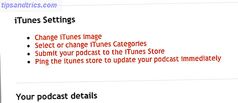 aplicación iTunes de podcast