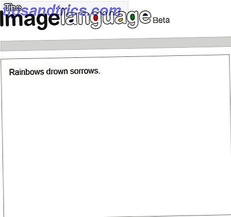 El lenguaje de la imagen: Traduzca sus oraciones en Google Images