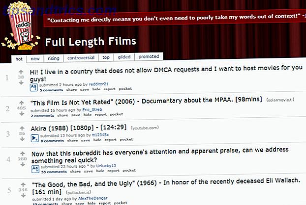 Die MPAA zielt auf ein Subreddit und öffnet jedermanns Augen, um Filme freizugeben