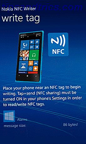 Como programar tags NFC e automatizar o Windows Phone 8