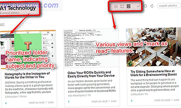 Zu viele RSS-Feeds?  Verwenden Sie diese Tools, um das Lesen einfacher zu machen