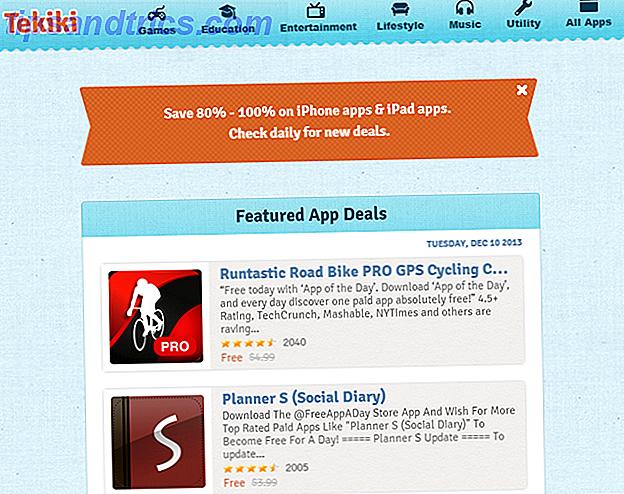 Tekiki te ayuda a encontrar las mejores ofertas para buenas aplicaciones de iOS todos los días