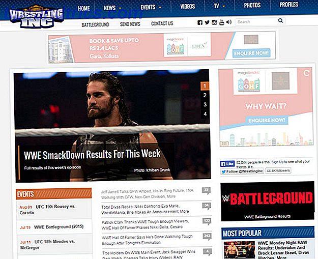 Ben je gek op professioneel worstelen?  Je wilt waarschijnlijk je vinger aan de pols van de worstelen wereld houden.  Vang het laatste nieuws met deze nieuwssites.
