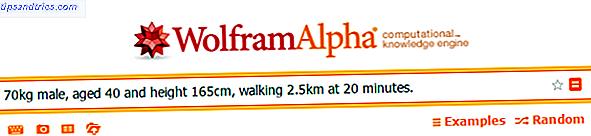 Da ist etwas an Wolfram Alpha.  Es macht komplizierte Berechnungen wieder cool.  Hier sind 20 Möglichkeiten, den Motor in den täglichen Gebrauch zu versetzen.