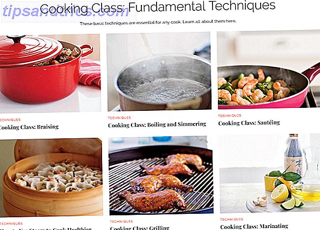 Madlavning til begyndere: 5 Nødvendige websteder til newbies i køkkenet