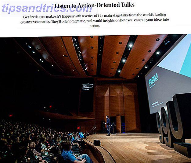 Agotado viendo TED Talks?  TED no es el único juego en la ciudad.  Aquí hay más de diez alternativas al evento popular que deberían ayudarte a reunir más ideas y expandir tu cerebro.