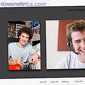 Crie uma página de perfil pessoal elegante para videoconferência com Meetings.io