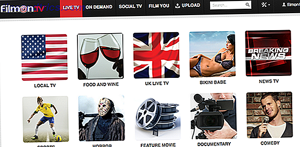 Vea Live TV Online, gratis, con FilmOn