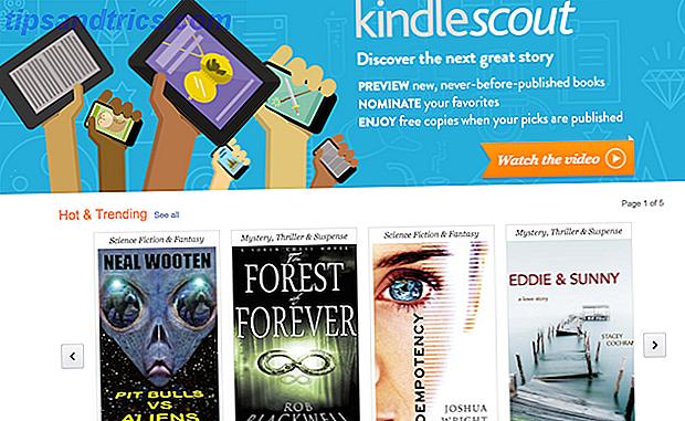 Wilt u uw boek eindelijk laten publiceren?  Amazon, de maker van de Kindle, heeft een nieuw programma gelanceerd dat de self-publishing industrie trouwt met crowdsourced campagnes zoals die op Kickstarter.