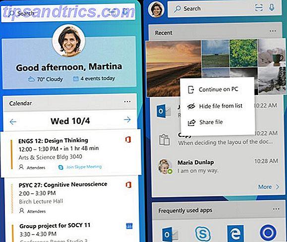 Windows Mobile ist tot.  Aber, Microsoft hat einige ausgezeichnete Apps für Android und iOS.  Wir bieten fünf der besten Microsoft-Apps, um Ihre Produktivität zu steigern.