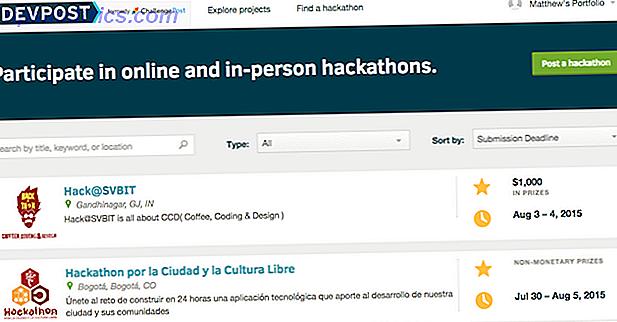 Kodieren Sie Ihren Weg zu besseren Fähigkeiten mit 8 Hackathon Search Sites