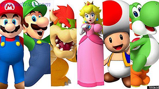 5 locaties voor de Mario Lover In Us