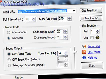 Transmitir feeds RSS por sonido usando Morse News [Windows]