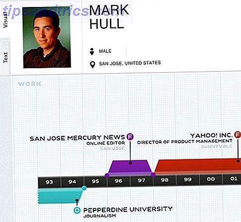 ResumUP: Erstellen Sie einfach eine Infographic Resume mit Ihren Facebook-Informationen