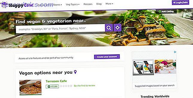 Veganism är inte bara en fluga längre, men det kan fortfarande vara besvärligt att hitta tillmötesgående restauranger och anläggningar.  Så här hittar du veganvänliga restauranger när du är i behov.