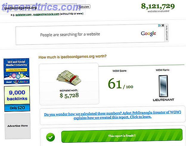 Was ist der beste Weg, um den Wert Ihrer Website zu berechnen?