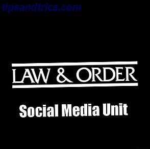 Se Dick Wolf está procurando sua próxima série policial de dramaturgia, eu tenho uma sugestão para ele - Lei e Ordem - Unidade de Mídia Social.  Uma equipe dedicada de detetives que usam o Facebook e o Twitter para caçar suas presas.