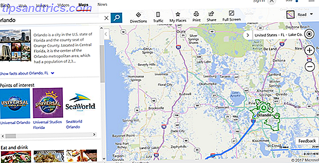 Bing Maps Places Web