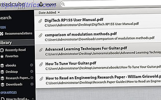 ReadCube: un client de lecture PDF pour les personnes