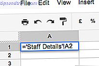 La mayoría de los usuarios solo usan una pequeña fracción del potencial de Google Spreadsheet.  ¿Sabes cómo obtener información de una hoja de cálculo de Google en otra?  Aquí hay una función de celular para hacer el trabajo.