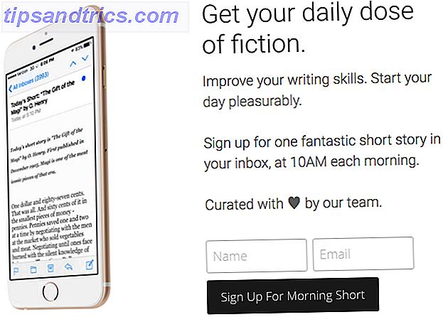 La lecture de fiction a plusieurs avantages.  Donc, si vous ne lisez pas déjà la fiction, vous devriez l'être.  Nous avons trouvé les meilleurs sites et applications qui servent une dose de nouvelles chaque fois que vous en avez besoin.