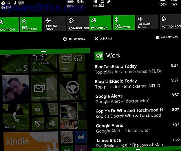 Microsoft dödar toast!  Nu kan du äntligen hantera dina meddelanden på Windows Phone.