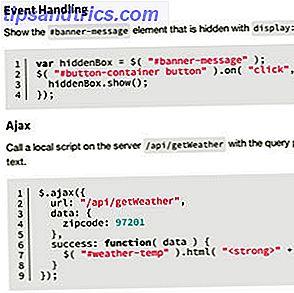 jQuery es una biblioteca de secuencias de comandos del lado del cliente que casi todos los sitios web modernos utilizan; hace que los sitios web sean interactivos.  No es la única biblioteca Javascript, pero es la más desarrollada, la más compatible y la más utilizada.