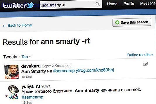 5 Trucos geniales de búsqueda de Twitter para monitorear lo que la gente dice de ti