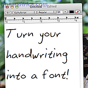 Tilføj den ultimative personlige berøring til ethvert dokument: Skift din håndskrift til en skrifttype og brug det.  Der er meget kreativt potentiale her, og det er meget lettere at gøre, end du tror, takket være MyScriptFont.