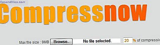 CompressNow: Comprime fácilmente el tamaño de las imágenes JPG, GIF, JPEG y PNG