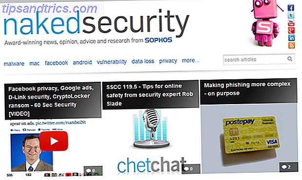 Sikkerhed er en afgørende del af computeren, og du bør stræbe efter at uddanne dig selv og forblive aktuel.  Du vil gerne tjekke disse ti sikkerhedsblog og sikkerhedseksperterne, der skriver dem.