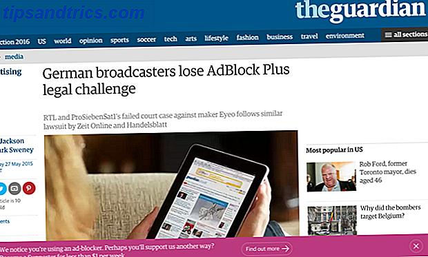 El bloqueo de anuncios ha cambiado nuestra experiencia de navegación.  La lucha de los editores web lo está cambiando aún más.  Pero si vencieron el bloqueo de anuncios, ¿qué significa para el futuro de nuestra experiencia en Internet?