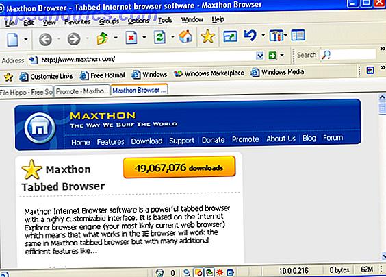 Maxthon Cloud Browser: une expérience de navigation complètement différente
