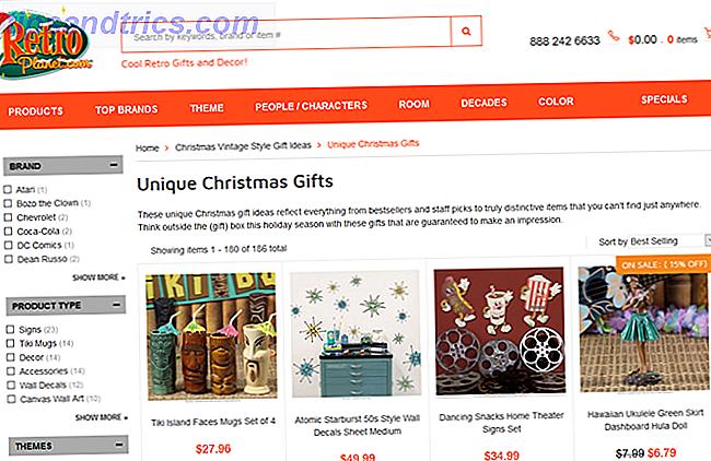 Die besten Online-Sites für wirklich einzigartige Weihnachtsgeschenke