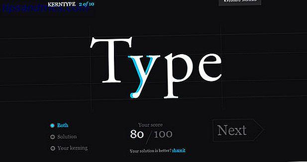 Un test de caractère: 10 jeux de polices qui prouvent que la typographie peut être amusante