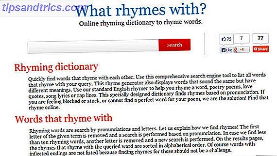 it's fine to rhyme - 7 online tools voor het rijmen van woorden en