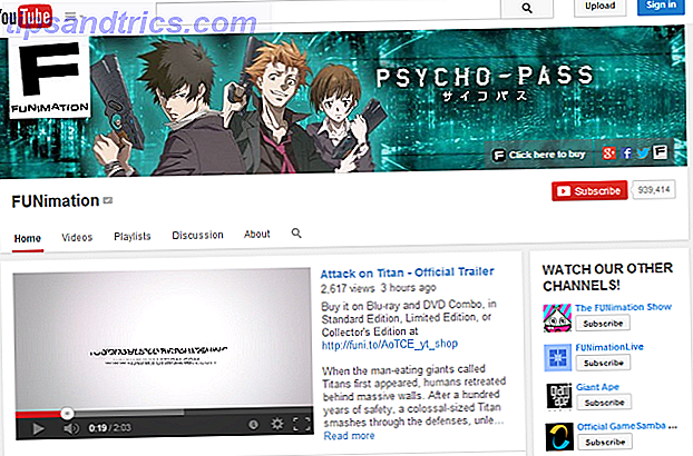 YouTube-Funimation